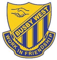 Busby West Public School logo